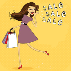 Fasion sale girl