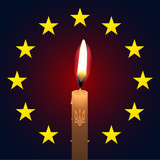 Ukraine EU candle