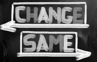 Change Same Concept