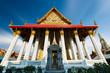 Temple thaïlandais, Bangkok, Thaïlande