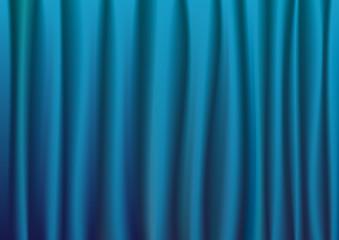 Vorhang Theatervorhang Theater Bühne blau
