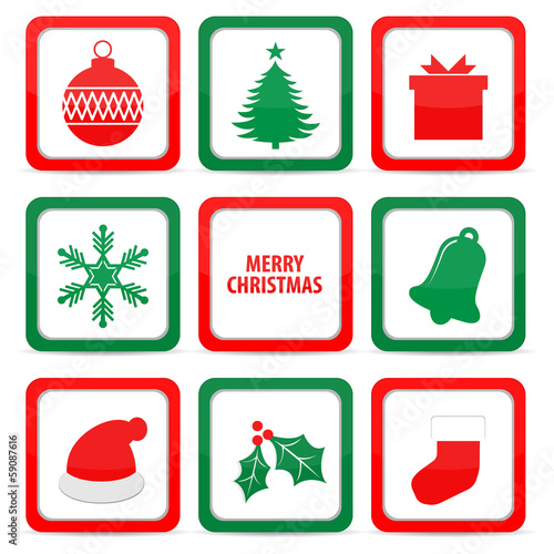 Christmas Icon vector illustration