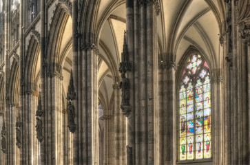 Cologne Dom Side Aisle