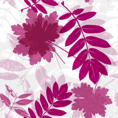 seamless leaf background,spring