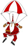 Skydiving Santa