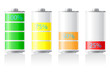 icons charge battery vector illustration - 59089297