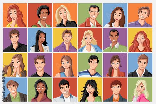 twarze-mody-kreskowki-mlodzi-ludzie