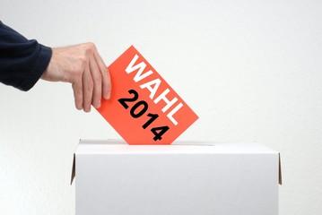 Nicht vergessen: Wahl 2014
