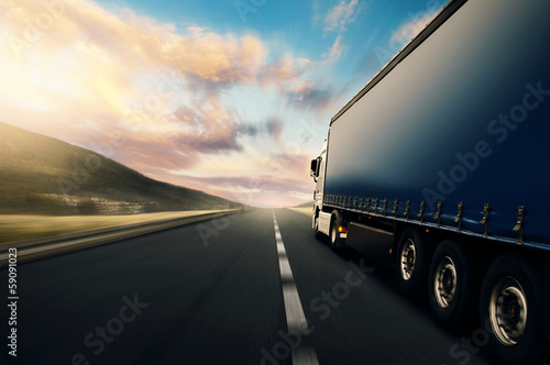 canvas print picture Truck