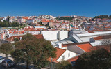 Panorama of the city.Lisbon. Portugal