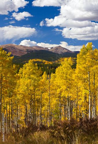 Colorado Rocky Mountains Fall Landscape