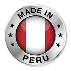 Made In Peru Silver Badge