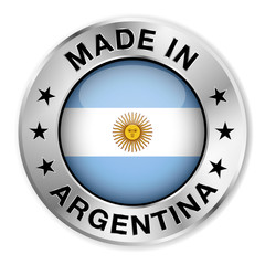 Made In Argentina Silver Badge