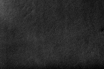 Genuine black leather background, pattern