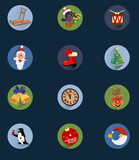 Christmas Icons , set