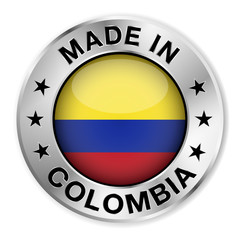Made In Colombia Silver Badge
