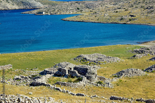Historic church ruins , Island of Krk