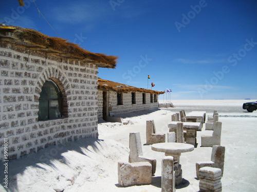 Salt hotel salar de uyuni - 59098011