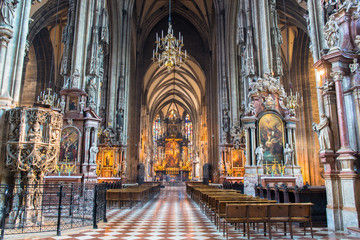 St  Stephen cathedral in Vienna , Austria
