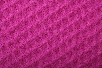 Pink sponge foam as background texture