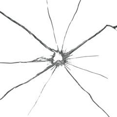 vector broken glass background