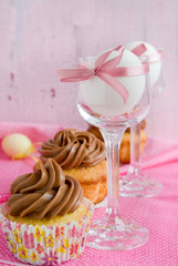 Cupcakes and eggs