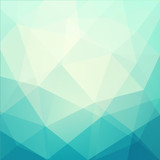 Fototapety Abstract triangle art - eps10