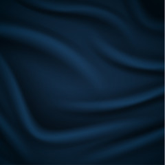 Smooth blue silky background - eps10