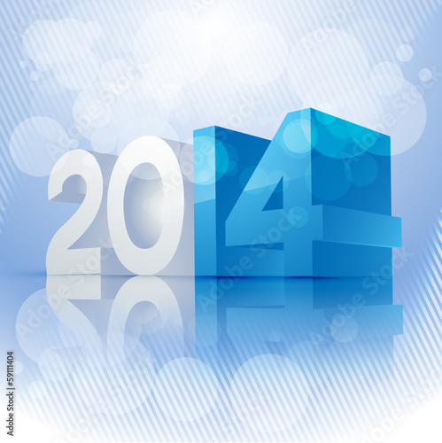 new year 3d background
