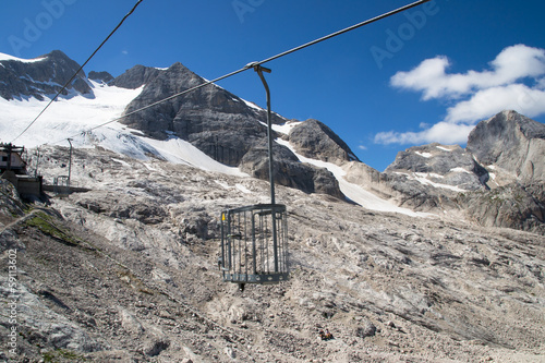 gondola in the Dolomites
