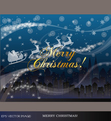 eps Vector image:MERRY CHRISTMAS!