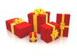 3D - Christmas Gift Boxes (XVI)