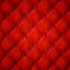 red geometric vector background