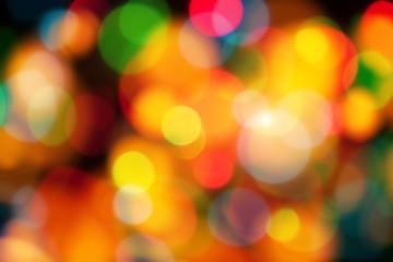 colour light blur