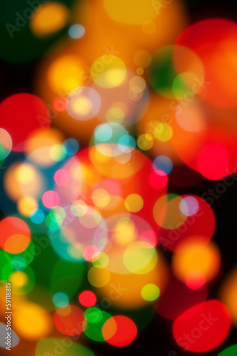 random light blur