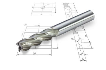 End mill cutter