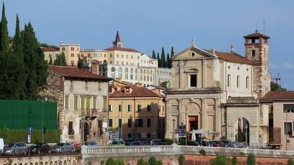 VERONA ITALY - Castello San Pietro
