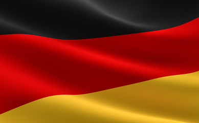 German flag - Deutschland Fahne