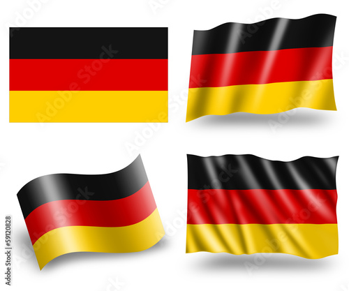 Flag of Germany - Deutschland Fahne