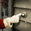 Santa is ringing your door bell