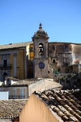 Campanile con orologio - Ragusa Ibla