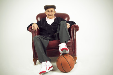 Grandfather athlete