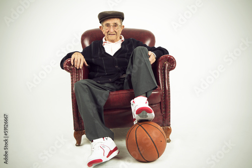 Grandfather athlete