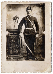 the officer - photo scan - about 1915