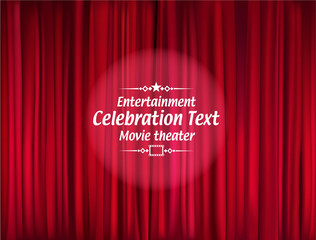 celebration curtain