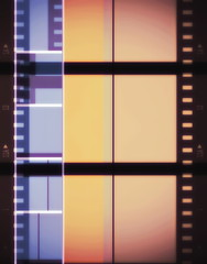 color film strip background
