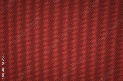 red nylon fabric  texture background.