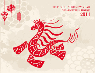 Traditional Chinese Horse New Year 2014