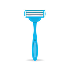vector razorz icon isolated on white, disposable razor.