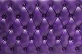 Fondo de tapizado morado en cuero natural acolchado